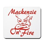 Mackenzie On Fire Mousepad