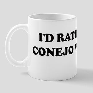 Rather: CONEJO VALLEY Mug