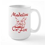 Madeline On Fire Large Mug