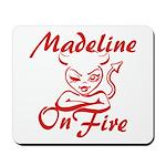 Madeline On Fire Mousepad