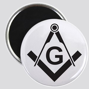 Masonic: Square & Compass Magnet