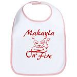 Makayla On Fire Bib