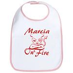 Marcia On Fire Bib