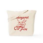 Margaret On Fire Tote Bag