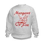 Margaret On Fire Kids Sweatshirt