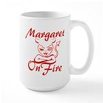 Margaret On Fire Large Mug