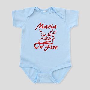 Maria On Fire Infant Bodysuit