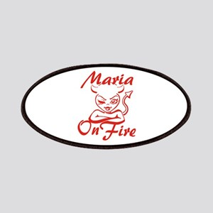 Maria On Fire Patches