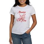 Marie On Fire Women's T-Shirt