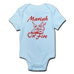 Mariah On Fire Infant Bodysuit