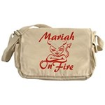 Mariah On Fire Messenger Bag