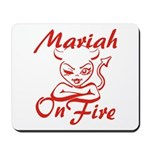 Mariah On Fire Mousepad