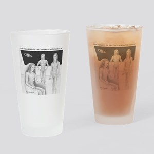 Space Brothers Crew ~ Drinking Glass