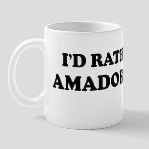 Rather: AMADOR CITY Mug