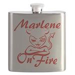 Marlene On Fire Flask