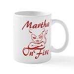 Martha On Fire Mug