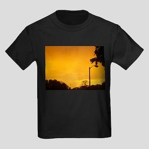 Yellow Twlight Kids Dark T-Shirt