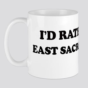 Rather: EAST SACRAMENTO Mug