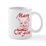 Mary On Fire Mug