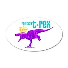 Princess T-Rex Wall Decal