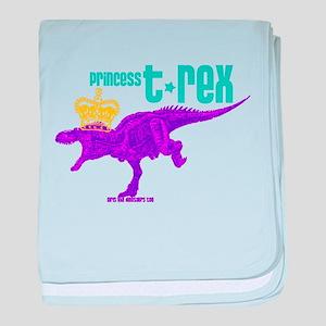 Princess T-Rex baby blanket