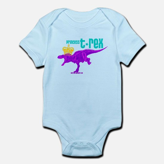 Princess T-Rex Infant Bodysuit