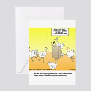 Far side greeting cards cafepress chickenhead anonymous greeting card m4hsunfo
