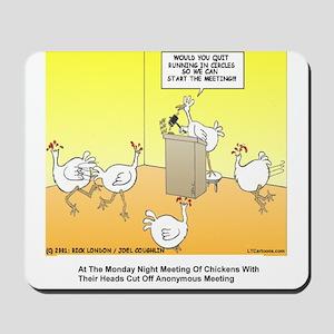 ChickenHead Anonymous Mousepad