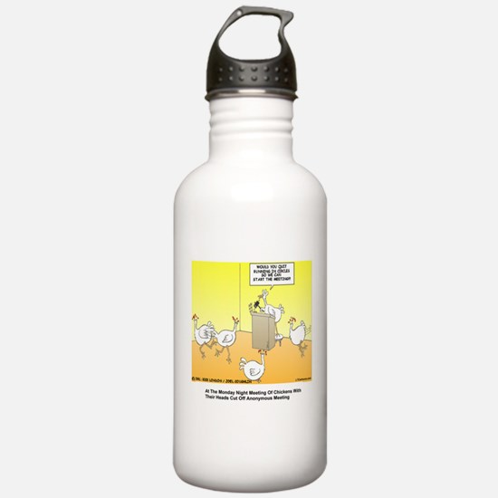 ChickenHead Anonymous Water Bottle