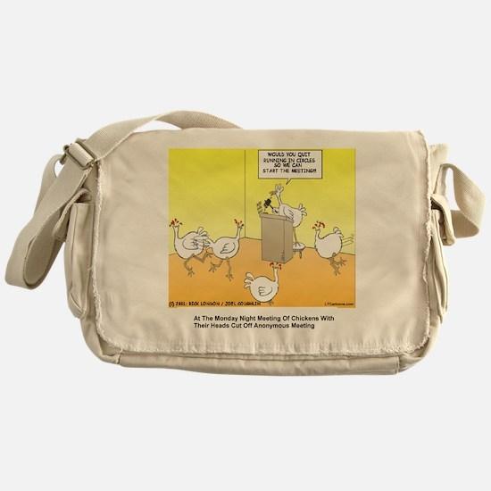 ChickenHead Anonymous Messenger Bag