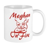 Meghan On Fire Mug