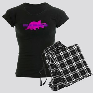 Girls Like Dinosaurs Too - Triceratops Women's Dar