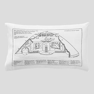 Interior Details of a Spaceship ~ Pillow Case
