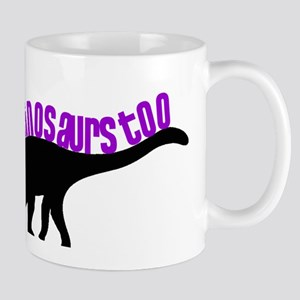 Girls Like Dinosaurs Too - Diplodocus Mug