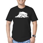Sleepy Head Men's Fitted T-Shirt (dark)