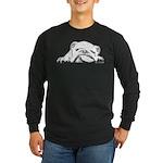 Sleepy Head Long Sleeve Dark T-Shirt