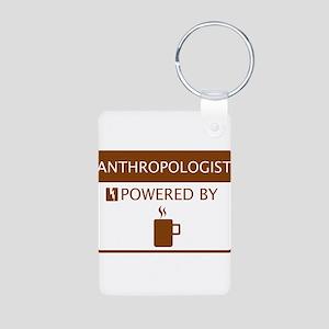 Anthropologist Powered by Coffee Aluminum Photo Ke