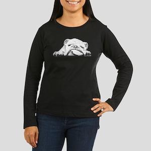 Sleepy Head Women's Long Sleeve Dark T-Shirt