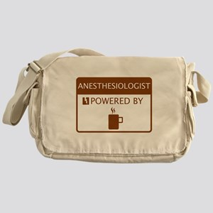 Anesthesiologist Powered by Coffee Messenger Bag