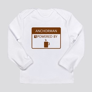 Anchorman Powered by Coffee Long Sleeve Infant T-S