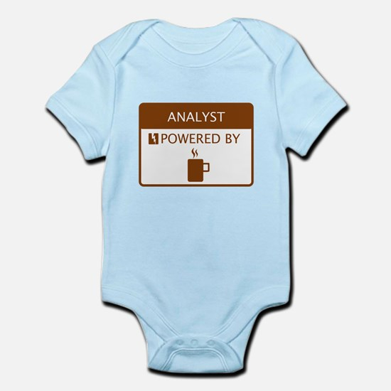 Analyst Powered by Coffee Infant Bodysuit