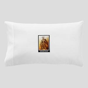 Gold spartan Pillow Case