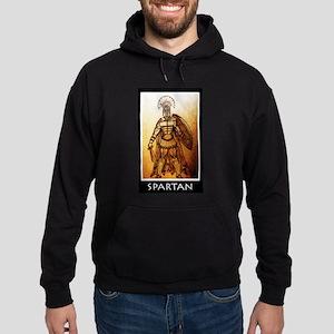 Gold spartan Hoodie (dark)
