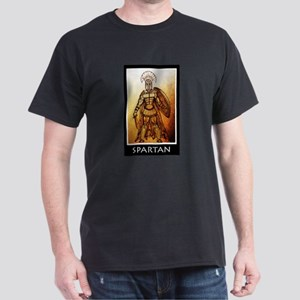 Gold spartan Dark T-Shirt