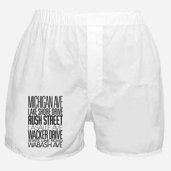 I Love ChiTown Boxer Shorts