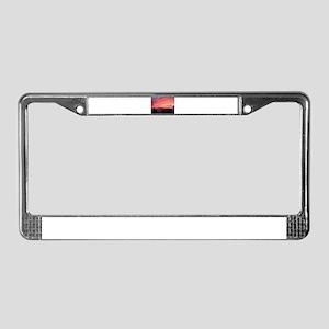 Musical Twilight License Plate Frame