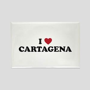 I Love Cartagena Rectangle Magnet