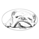 Sleepy Head Sticker (Oval 50 pk)