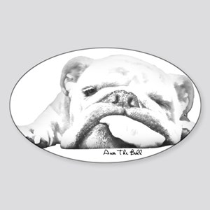 Sleepy Head Sticker (Oval)