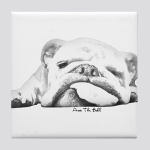 Sleepy Head Tile Coaster